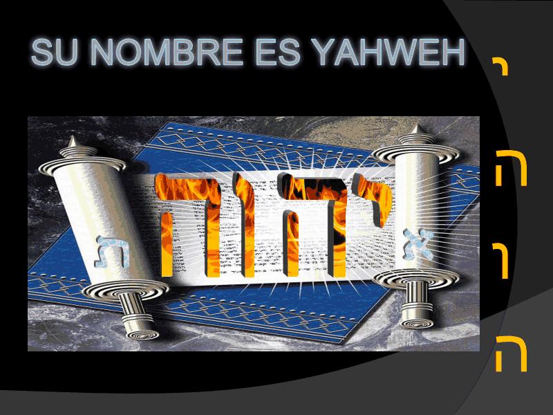Yahweh è Dio