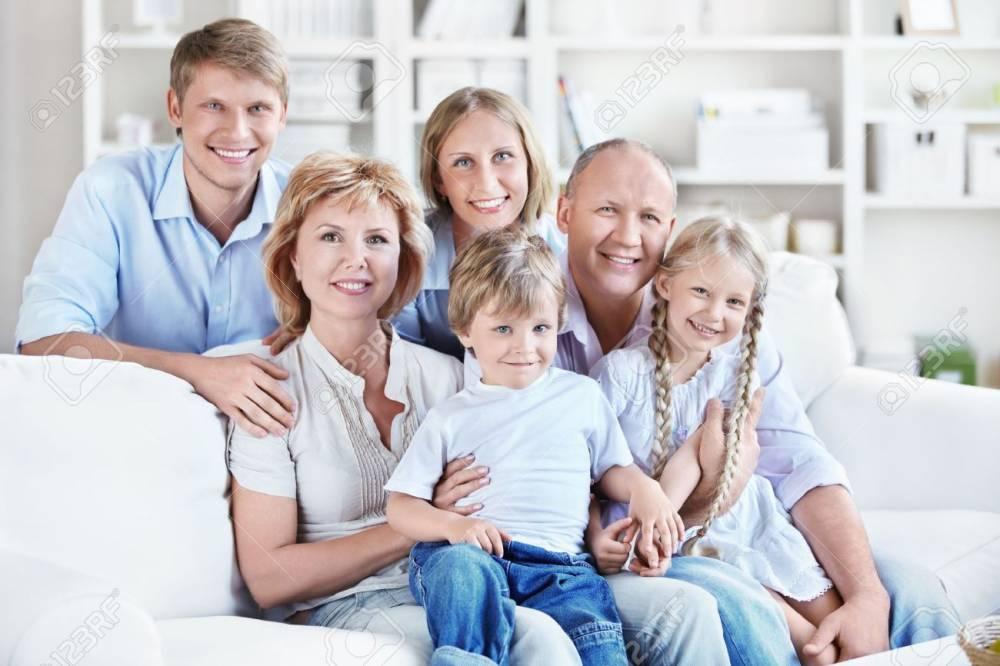 Questa è una vera famiglia felice