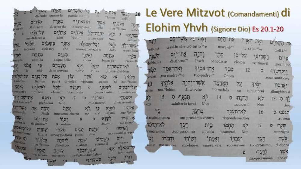 Scritture della lingua originale