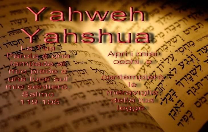 la Bibbia è la Parola di YAHWH