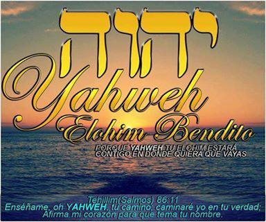 Yahweh vero Dio!