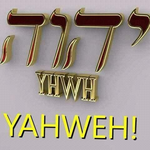 YAHWEH UNICO E SOLO VERO DIO