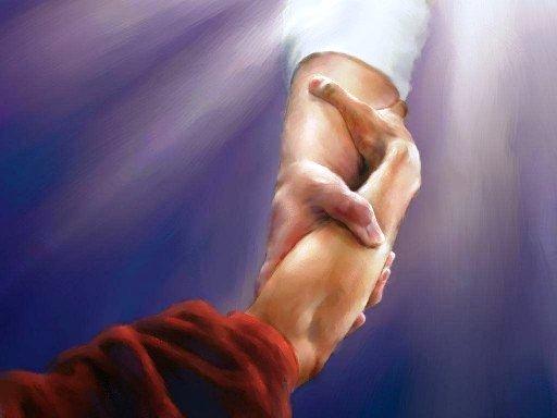 E la mano di Dio che ti salva