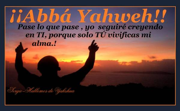 Yahweh Dio Padre Eterno
