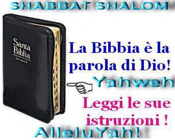 La Bibbia unica verità da seguire