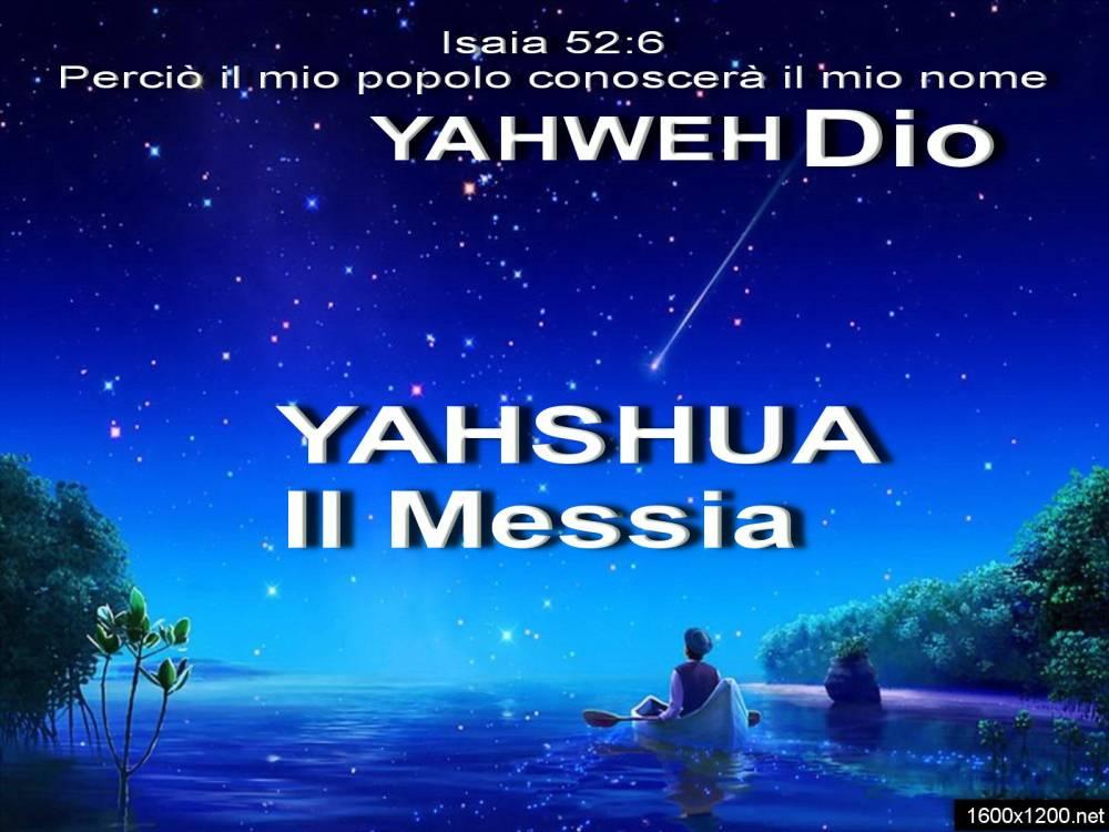 Yahshua il nostro salvatore