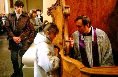 Solo a YHWH attraverso Yahshua si confessa i nostri peccati