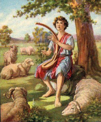 Davide fu elevato da Yahweh