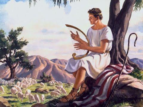 Davide parla con Yahweh