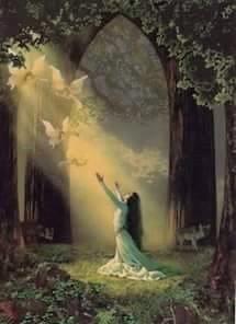 La Tua luce è un gioia nel mio cuore