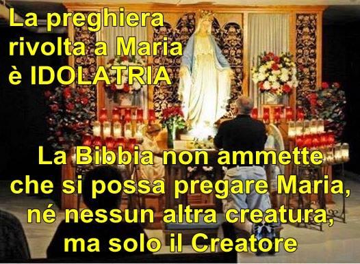 Gli idolatri vengano rigettati da YAH