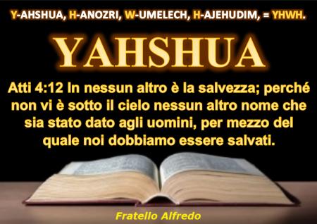Yahshua è Risuscitato