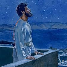Davide confessa a Dio