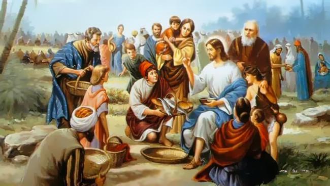 Opere di misericordia per la folla