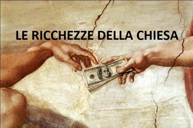La ricchezza viene nelle chiese