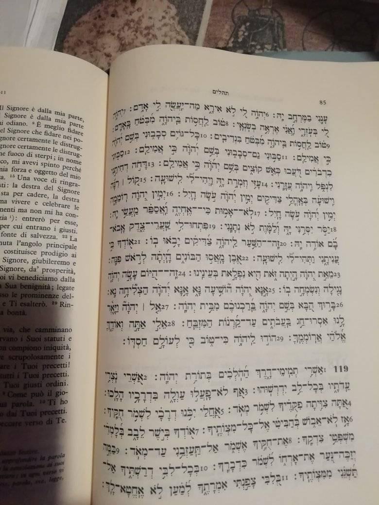Salmo 119 Ebraica