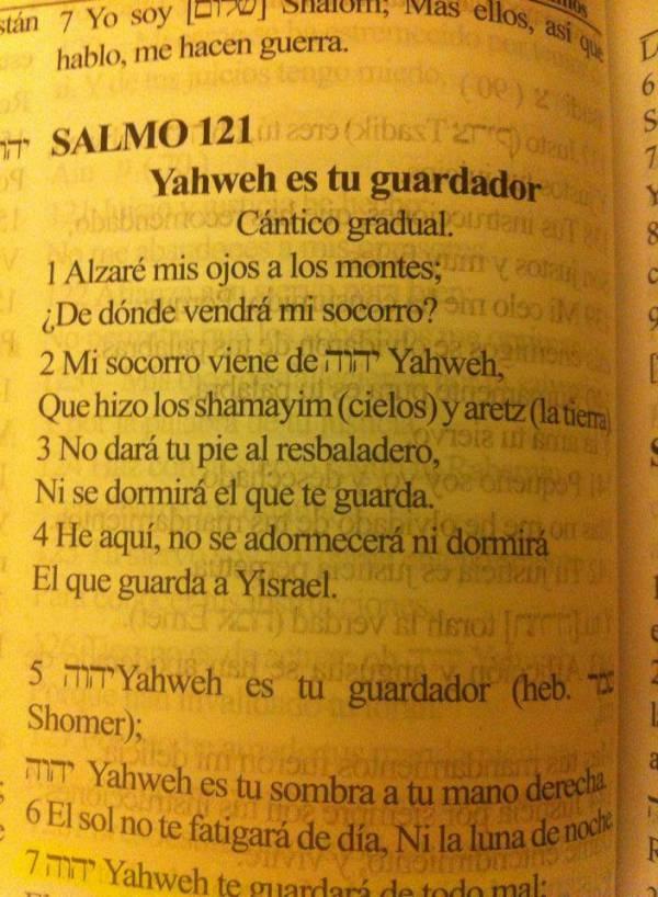 GLORIA A YAHWEH