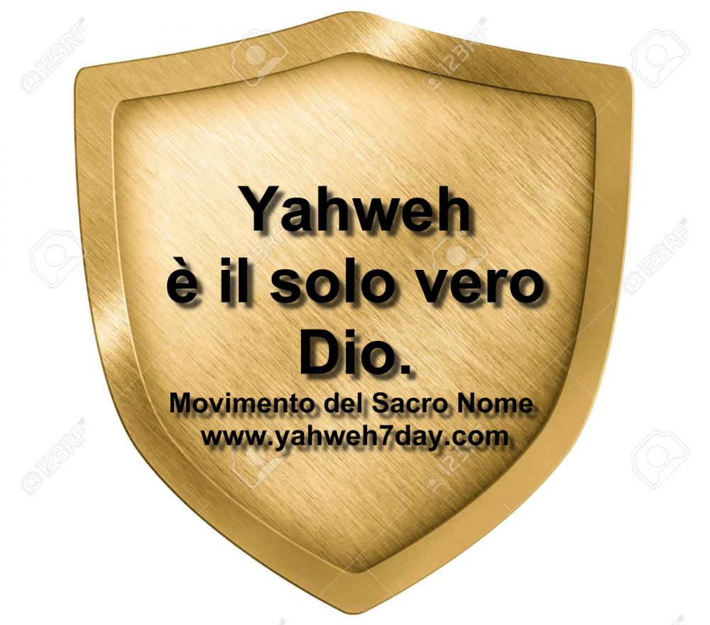 Il nostro Scudo è Yahweh