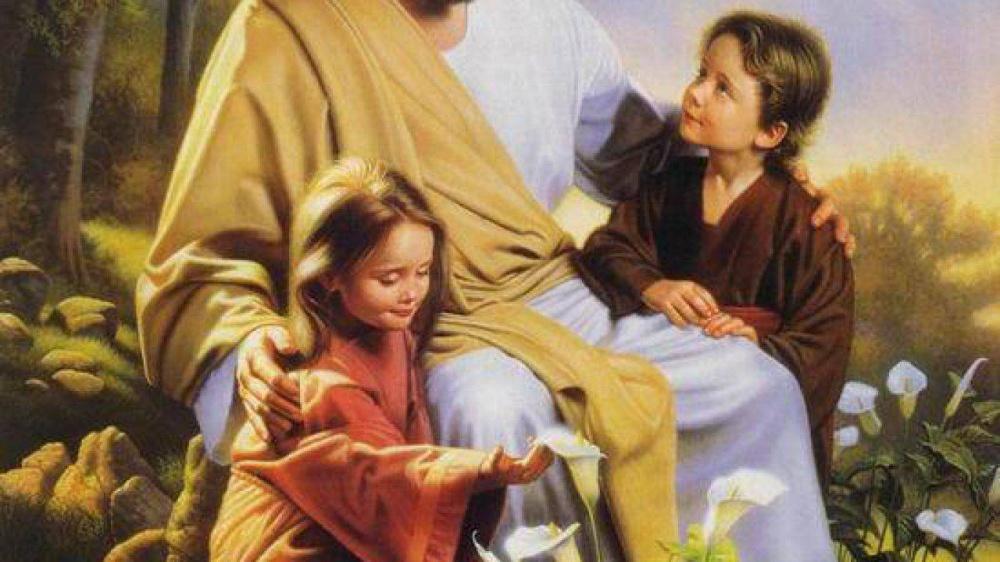 Yahshua con i bambini