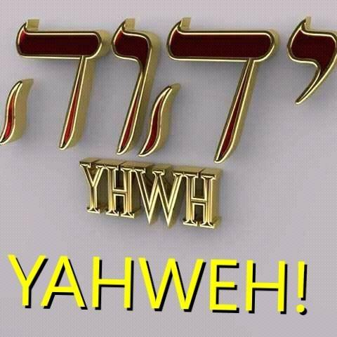 il vero Dio è unoa sola strada e si chiama Yahweh